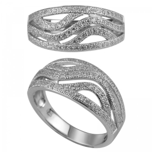 Micro Pave Setting Ring