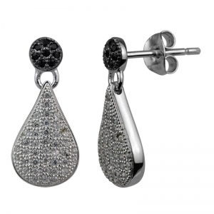 Pear Shape Drop Earrings